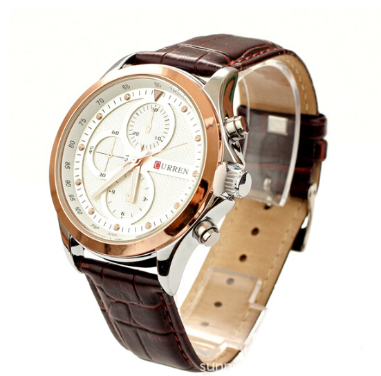 NEW Fashion Curren Mens Watch